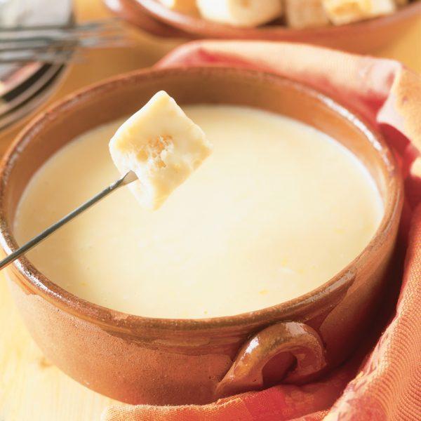 La parfaite fondue au fromage