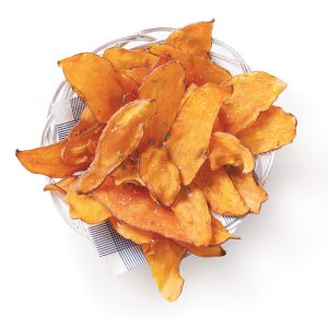 Chips de patate douce au parfum de lime