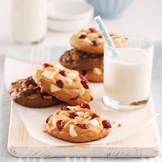 Une pâte à biscuits, 5 variantes décadentes