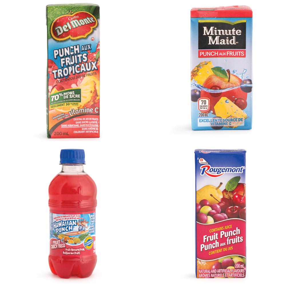 Nutrition: zoom sur les punchs aux fruits