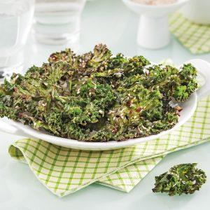 Chips de chou kale au parfum d'Asie