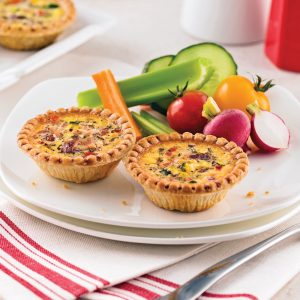 Mini-quiches à l'italienne