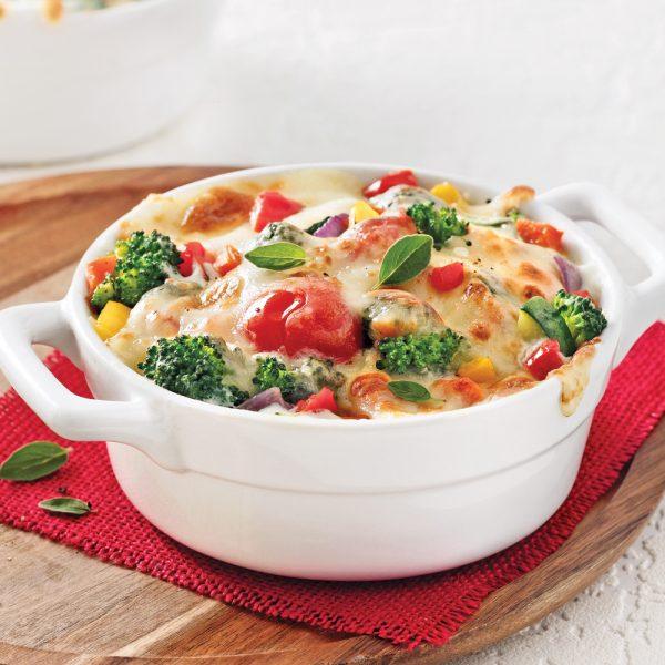 Cassolette gratinée aux légumes