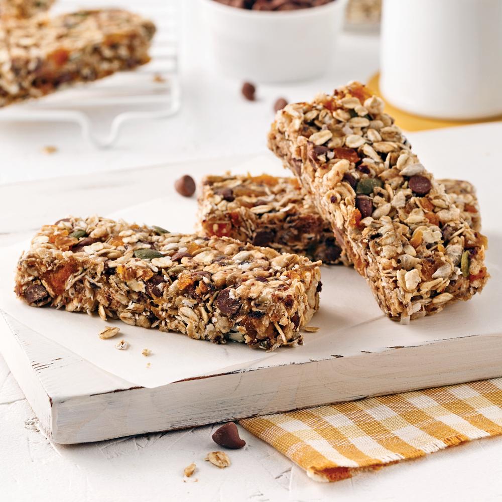 Barres granola sans cuisson