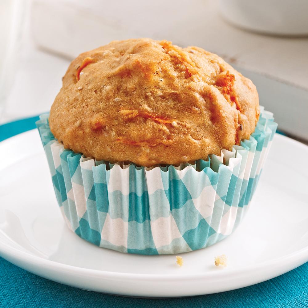 Muffins aux carottes sans allergènes