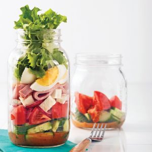Salade en pot