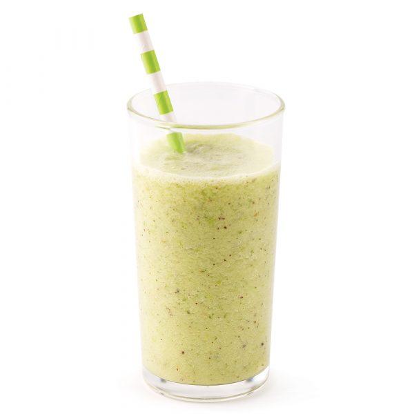Smoothie au concombre, kiwi et lime