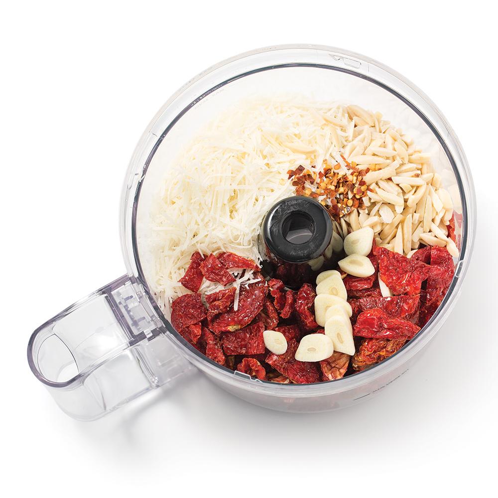 Pesto aux tomates séchées et amandes