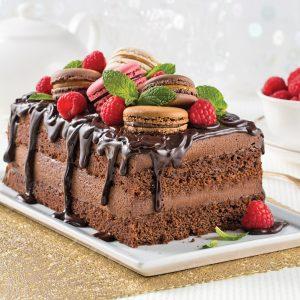 Gâteau-mousse chocolat et café