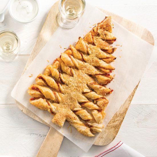 Comment faire un sapin en pâte feuilletée?
