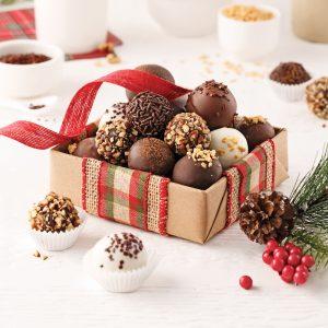 Truffes au chocolat et vanille