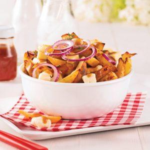 Poutine santé aux pommes de terre et rutabaga