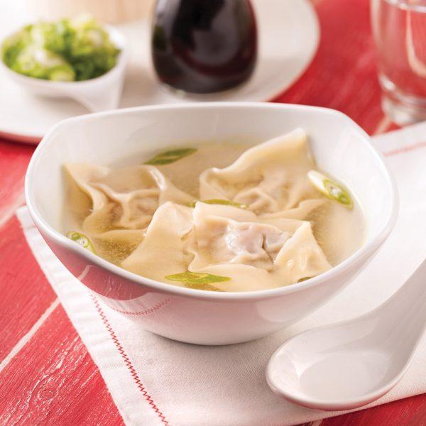 Soupe wonton au porc