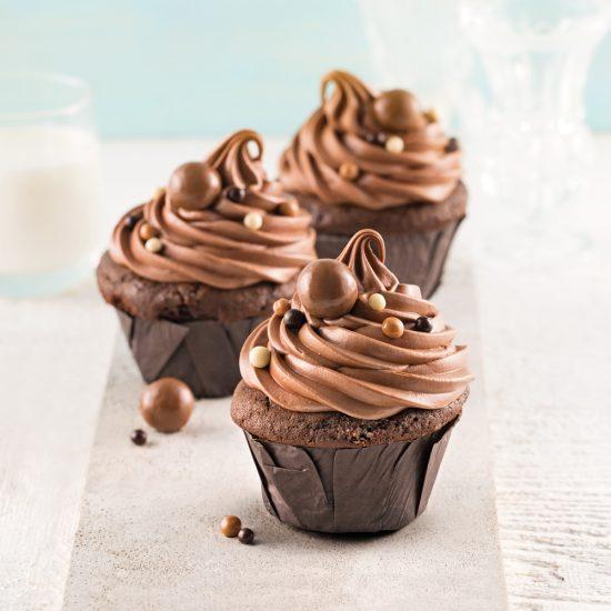Cupcakes chocolatés
