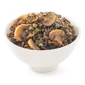 Riz sauvage aux champignons