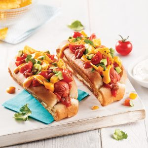 Hot-dog nacho
