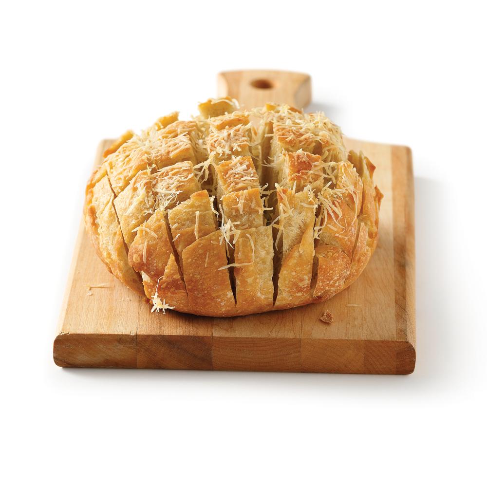 Miche de pain à l'ail