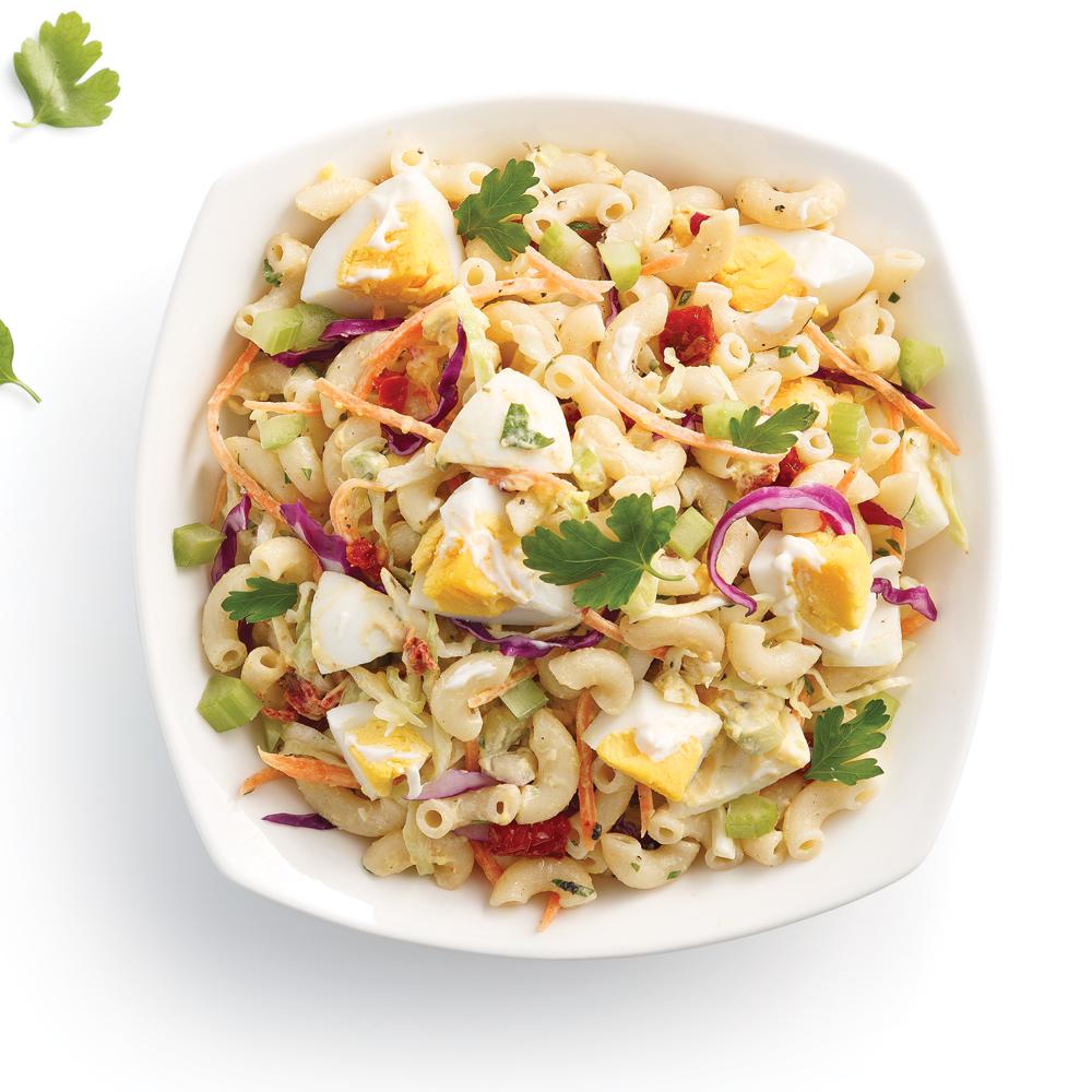 Salade de macaronis aux oeufs