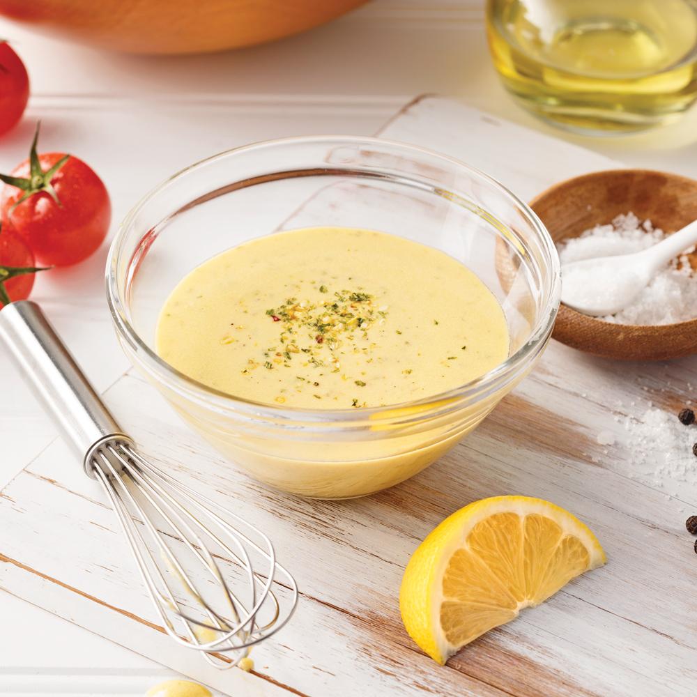 Vinaigrette crémeuse à la Dijon - 5 ingredients 15 minutes