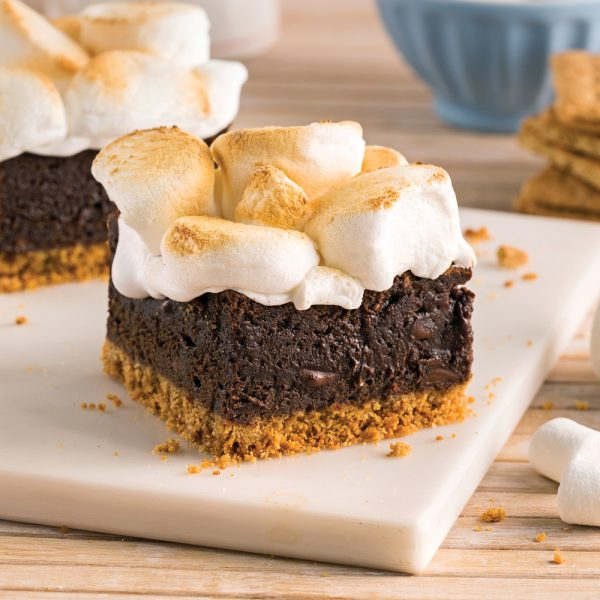 Brownies s'mores