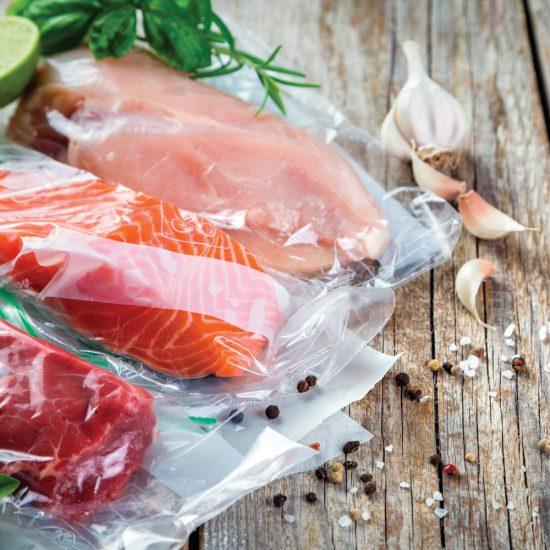 Conservation des aliments scellés sous vide