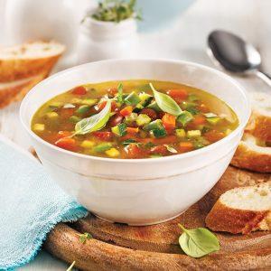 Soupe minestrone à la mijoteuse