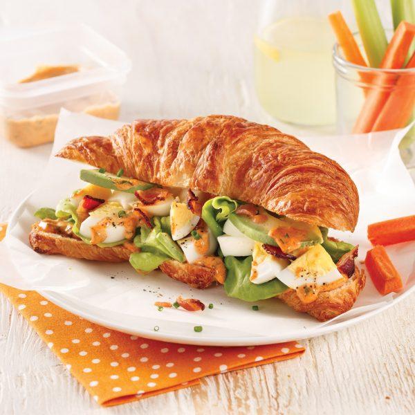 Sandwich aux oeufs