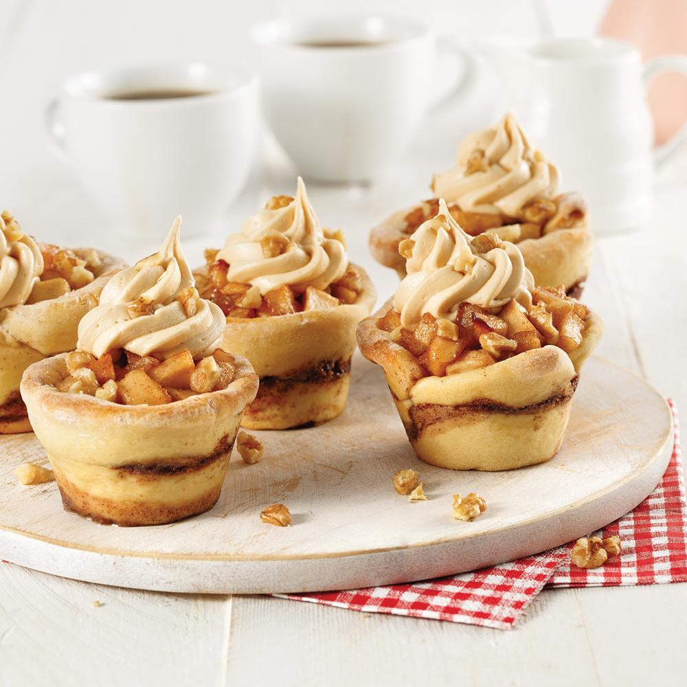 Cupcakes tarte aux pommes