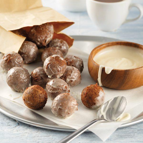 Trous de beignes au chocolat style Timbits