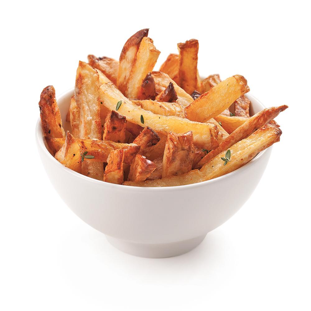 Frites au four au thym