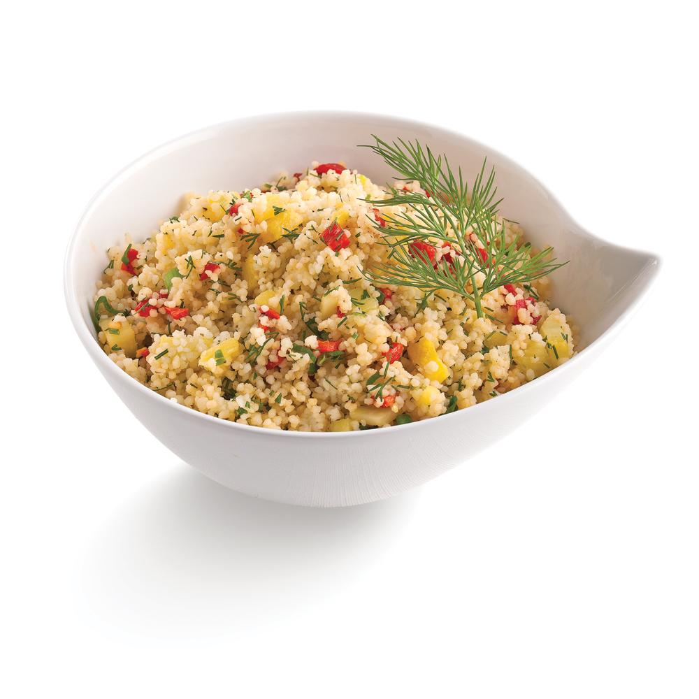 Couscous au gingembre et ananas