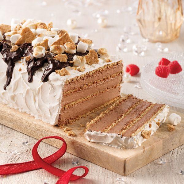 Gâteau frigidaire façon s'more