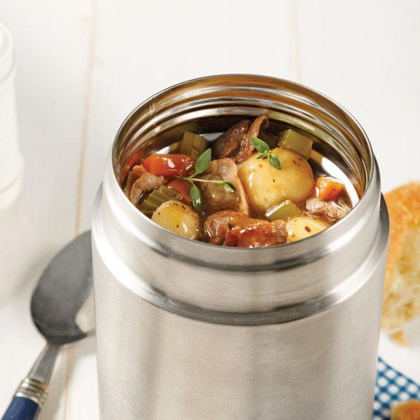 Mijoté de boeuf à fondue aux légumes