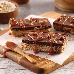 Barres choco-caramel