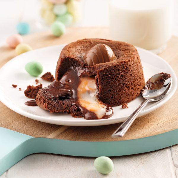 Gâteau fondant à l'œuf Cadbury