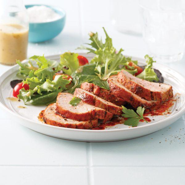 Filet de porc, marinade barbecue (recette pour sacs à congeler)