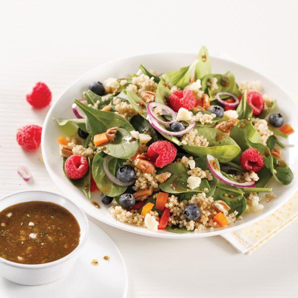 20 salades-repas 100% végé
