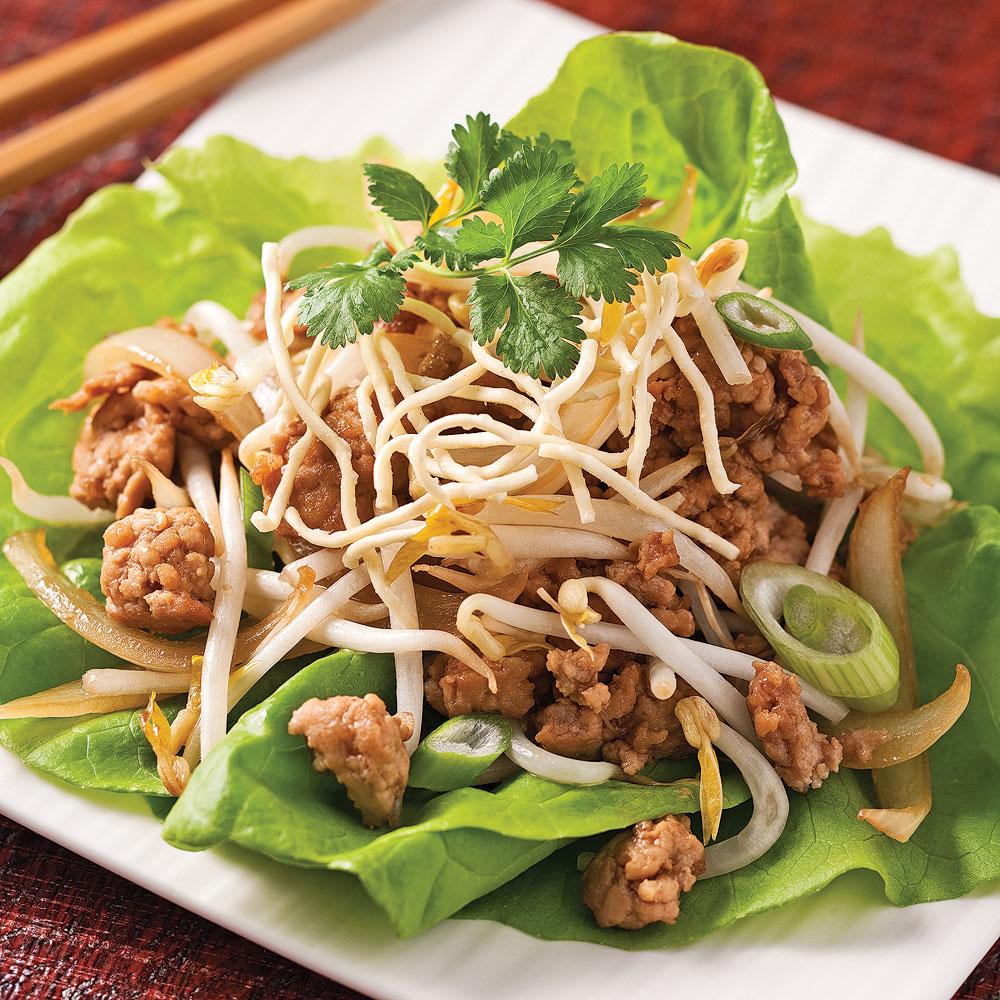 Sauté de porc haché à la chinoise