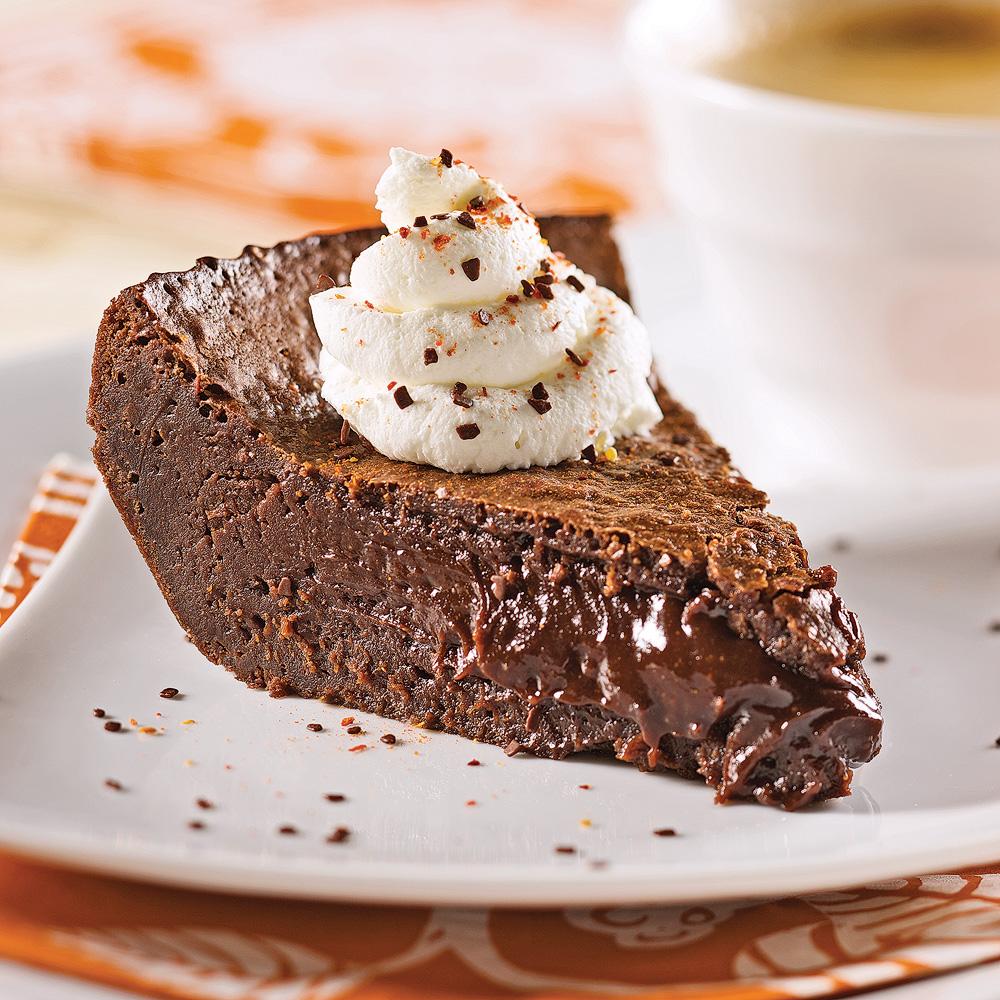 Gâteau chocolaté au coeur fondant