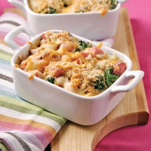 Ham and Vegetable Bake