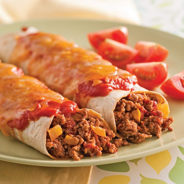 Enchiladas au veau