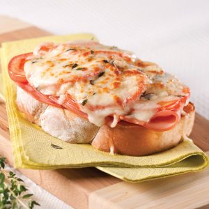 Croque-monsieur jambon-tomates