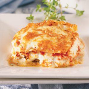Lasagne aux trois fromages
