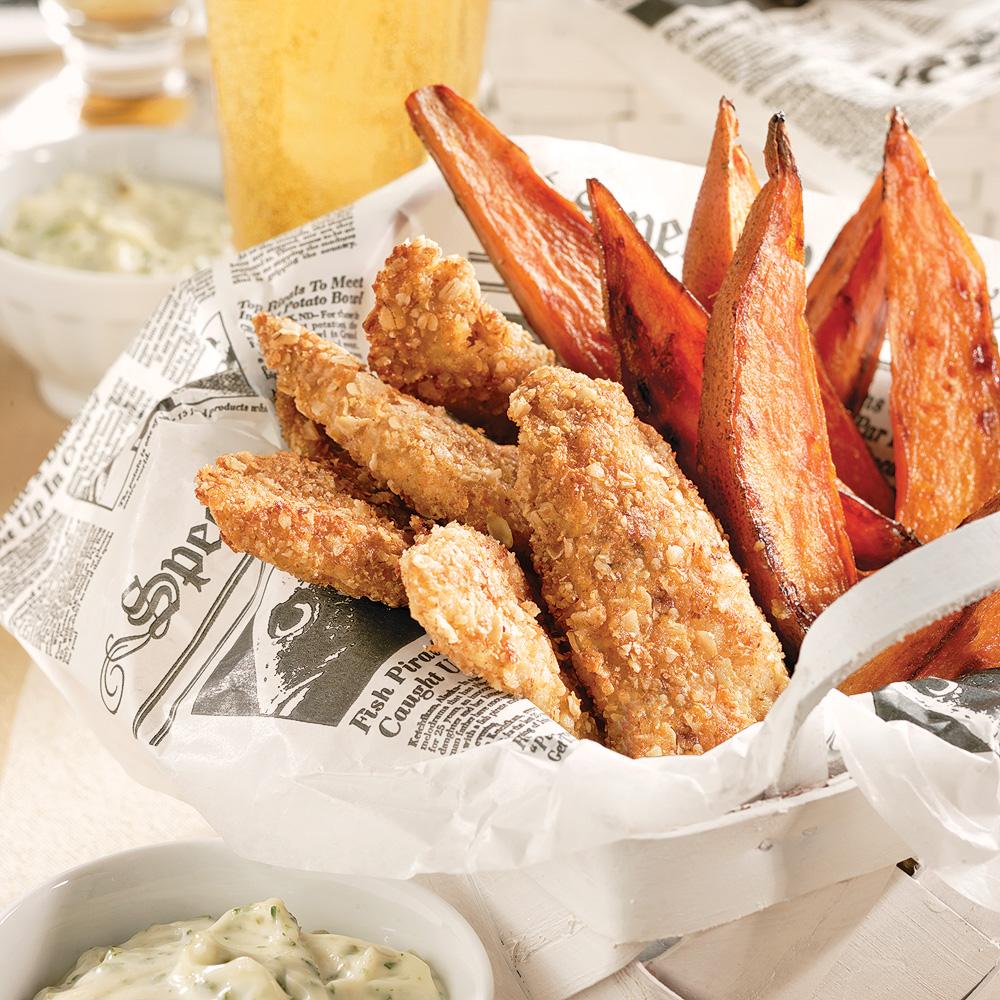 Fish'n chips santé