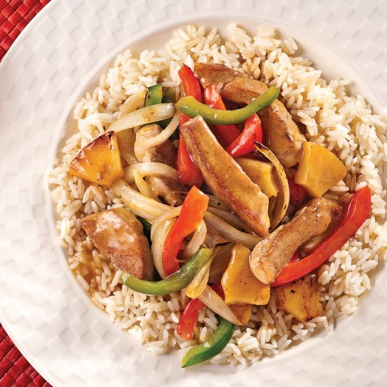 Sweet and Savoury Pork Stir-fry