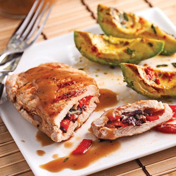 Côtelettes de porc papillon farcies en 5 ingrédients, 15 minutes