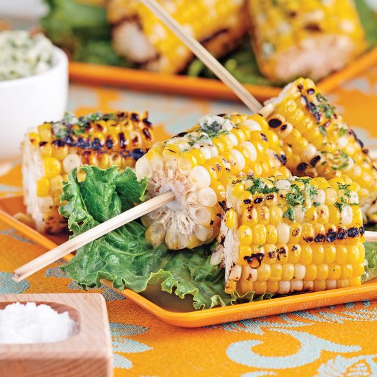 Grilled Corn Skewers