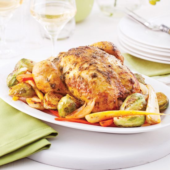Indian-Style Roast Chicken