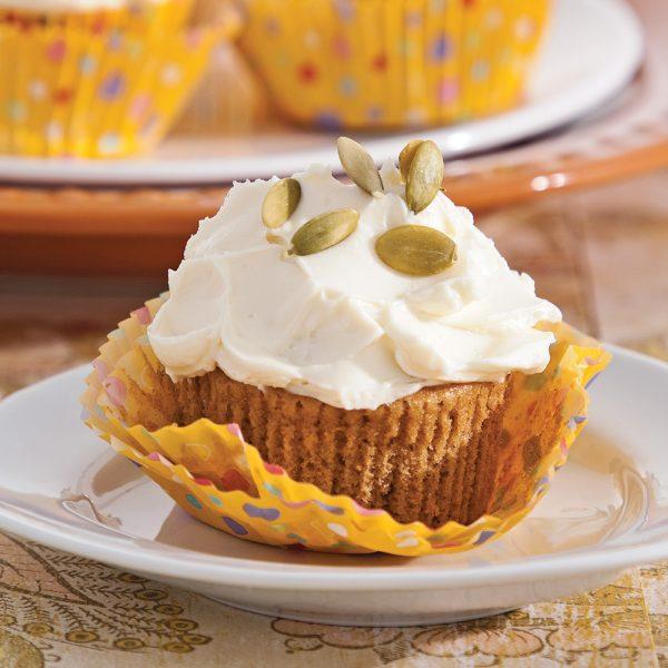 Cupcakes à la citrouille