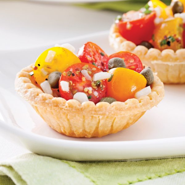 Tartelettes aux tomates et câpres